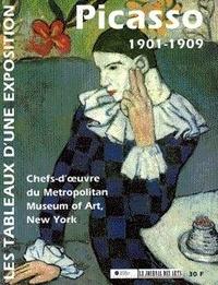 Brigitte Léal - Picasso 1901-1909 - Les tableaux d'une exposition.