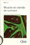Brigitte Picard et Dominique Bauchart - Muscle et viande de ruminants.