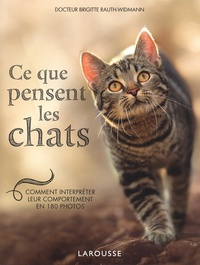 Brigitte Rauth-Widmann - Ce que pensent les chats - Comment interpréter leur comportement en 180 photos.
