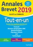 Brigitte Réauté et Sébastien Dessaint - Annales brevet - Tout-en-un.
