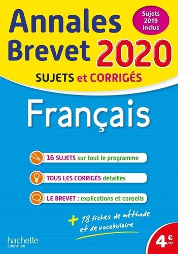 Français. Sujets et corrigés  Edition 2020