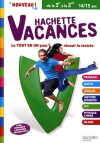 Brigitte Réauté et Gérard Caparros - Hachette vacances de la 3e à la 2de.