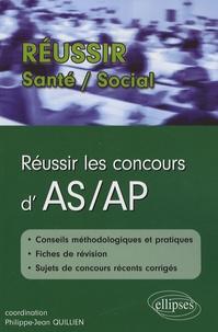 Brigitte Sablonnière et Gérard Canési - Réussir les concours d'AS/AP.