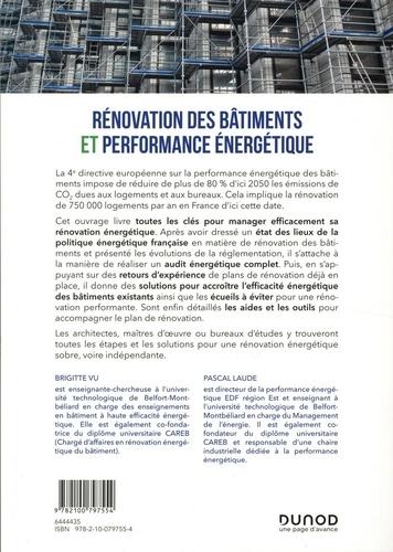 Rénovation des bâtiments et performance énergetique. Management et solutions