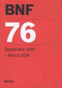 British Medical Association et  Royal Pharmaceutical Society - BNF - September 2018-March 2019.