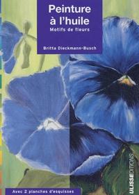 Britta Dieckmann-Busch - Peinture à l'huile - Motifs de fleurs.
