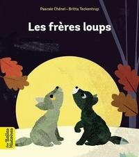 Britta Teckentrup et Pascale Chénel - Les frères loups.
