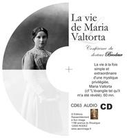 Brodeur - La vie de maria valtorta - cd enseignement audio.