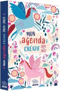 Brooks Feena - Mon agenda créatif - Avec + de 100 autocollants à colorier !.