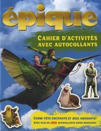 Broquet - Epique - Cahier d'activités avec autocollants.