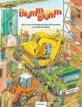 Brumm-brumm - Mein erstes Wimmelbuch über die Baustelle.