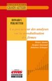 Bruno Amann et Johannes Schaaper - Howard V. Perlmutter - Un précurseur des analyses sur la mondialisation des firmes.