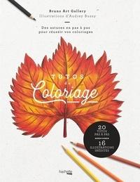 Derniers eBooks Tutos de coloriage  - Des astuces en pas à pas pour réussir vos coloriages par Bruno Art Gallery, Audrey Bussy (French Edition) 9782017076612 CHM RTF