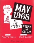 Bruno Barbey et Philippe Tesson - May 68 - The student revolt in France.