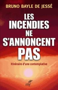 Bruno Bayle de Jessé et Jean-François Maillard - Les incendies ne s'annoncent pas - Itinéraire d'une contemplative.