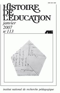 Bruno Belhoste - Histoire de l'éducation.