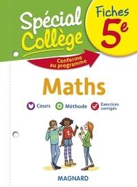 Bruno Benitah - Fiches maths 5e Spécial Collège.