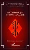 Bruno Bérard et Alain Brun - Métaphysique et psychanalyse.
