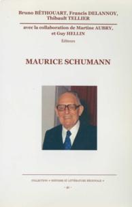 Bruno Béthouart et Francis Delannoy - Maurice Schumann.
