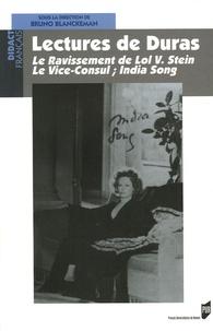 Bruno Blanckeman et Dominique Roussel- Denès - Lectures de Duras - Le Ravissement de Lol V. Stein ; Le Vice-consul - India Song.
