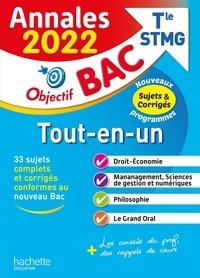 Bruno Bonnefous et Marc Geronimi - Tout-en-un Tle STMG.