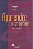 Bruno Bourassa et Fernand Serre - Apprendre de son expérience.