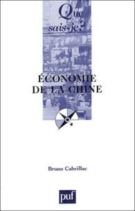 Bruno Cabrillac - Economie de la Chine.