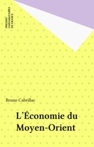 Bruno Cabrillac - L'économie du Moyen-Orient.