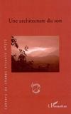 Bruno Cailler - Cahiers de champs visuels N° 1/2 : Une architecture du son.