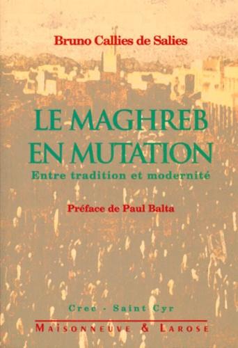 Bruno Callies de Salies - LE MAGHREB EN MUTATION. - Entre tradition et modernité.