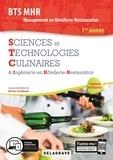 Bruno Cardinale et Jean-François André - Sciences et Technologies Culinaires & Ingénierie en Hôtellerie-Restauration BTS MHR Management en Hôtellerie-Restauration 1re année.