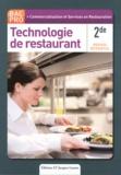 Bruno Cardinale et Coralie Beauvallet - Technologie de restaurant 2e Bac Pro - Nouveau référentiel.