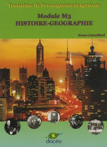 Bruno Catouillard - Histoire-Géographie 3e agricole.