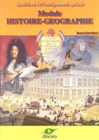 Bruno Catouillard - Module Histoire-Géographie 4e de l'enseignement agricole - Manuel.