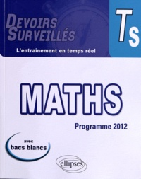 Bruno Ciolfi - Mathématiques Terminale S - Conforme au nouveau programme 2012.