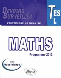 Bruno Ciolfi - Mathématiques Tle ES, L - Programme 2012.