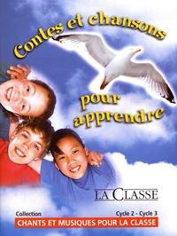 Bruno Clavier et Paul Maucourt - Contes et chansons pour apprendre. 1 CD audio
