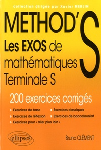 Bruno Clément - Method's maths, Terminale S.