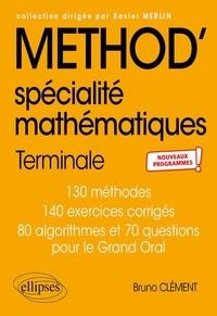Bruno Clément - Spécialité mathématiques Tle.