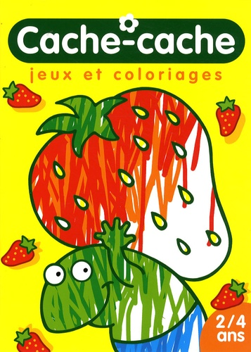 Bruno Coispel - Cache-cache - Jeux et coloriages (grenouille) 2/4 ans.