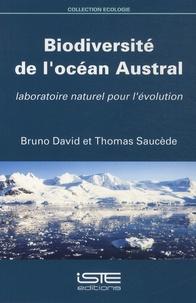 Biodiversité de l'océan Austral- Laboratoire naturel pour l'évolution - Bruno David   Showmesound.org