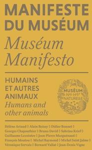 Humains et autres animaux - Bruno David pdf epub