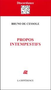 Bruno de Cessole - .