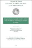 Bruno Deffains - L'organisation des dispositifs spécialisés de lutte contre la criminalité économique et financière en Europe.