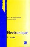 Bruno Delacressonnière et Christophe More - Electronique - 1re année.
