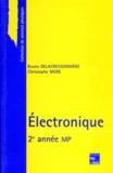 Bruno Delacressonnière et Christophe More - Électronique - 2e année MP.