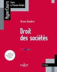 Bruno Dondero - Droit des sociétés - 6e éd..
