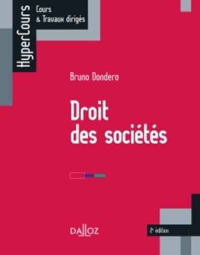 Droit des sociétés 2e édition