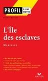 Bruno Doucey - Profil - Marivaux : L'Ile des esclaves - Analyse littéraire de l'oeuvre.