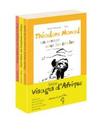 Bruno Doucey et Véronique V. Beau - Visages d'Afrique - Coffret en 3 volumes.